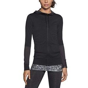 Nike Women's Dri-FIT Knit Full-Zip Hoodie Jacket,